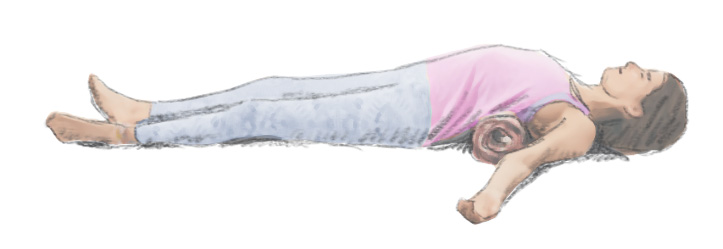 Laying down is not ideal, but it is a comfortable posture for meditation.