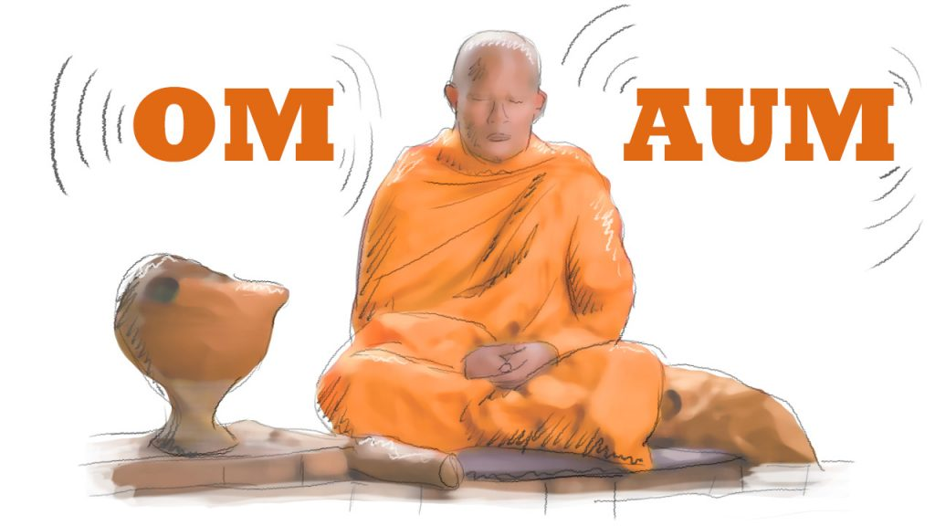 OM AUM The sound of the universe